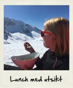 Lunch med utsikt